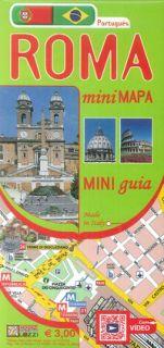 Roma mini map. Ediz. portoghese -
