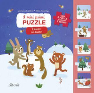 È Natale nel bosco! I miei primi puzzle. Ediz. a colori - Cabrol Emmanuelle; Karabatzia Villie