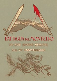 La battaglia del Montello. Riproduzione anastatica integrale. Con mappa - Battistella Oreste; Vanzetto L. (cur.)