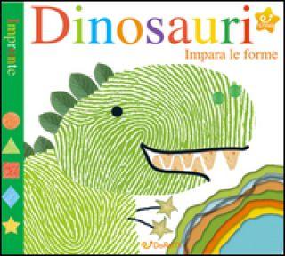 Dinosauri. Impara le forme. Impronte. Ediz. a colori - Powell Sarah