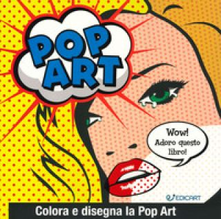 Pop art. Colora e disegna la pop art -