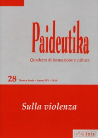 Paideutika. Vol. 28: Sulla violenza -