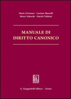 Manuale di diritto canonico -
