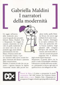 I narratori della modernità - Maldini Gabriella