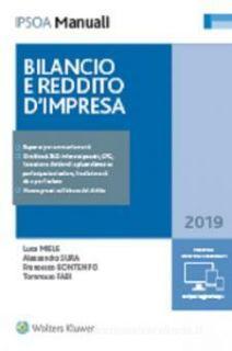 Bilancio e reddito d'impresa - Miele Luca; Bontempo Francesco; Sura Alessandro