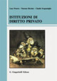 Istituzioni di diritto privato - Nivarra Luca; Ricciuto Vincenzo; Scognamiglio Claudio