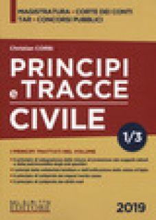 Principi e tracce. Civile. Vol. 1 - Corbi Christian