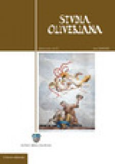 Studia Oliveriana. Quarta serie. Vol. 4 -
