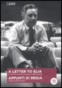 Appunti di regia. Con DVD - Kazan Elia; Cornfield R. (cur.)