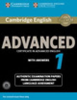 Cambridge English Advanced 1 For Revised Exam From 2015 Student's Book Pack (student's Book With Answers And Audio Cds (2)) Authentic Examination Papers From Cambridge English Language Assessment -  Cela - Cambridge University Press