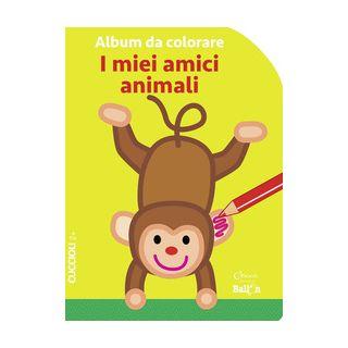 I miei amici animali. Album da colorare. Ediz. a colori -  - Chiara Edizioni