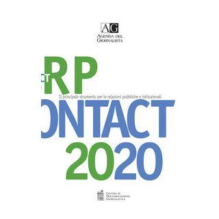 Agenda del giornalista 2020. Rp contact. Vol. 2 -