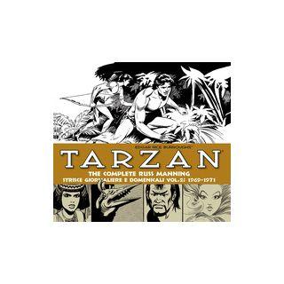Tarzan. Strisce giornaliere e domenicali. Vol. 2: 1969-1971 - Manning Russ; Burroughs Edgar R.