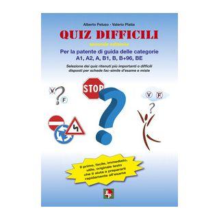 Quiz difficili per la patente di guida delle categorie A1, A2, A, B1, B, B+96, BE. Selezione dei quiz ritenuti più importanti o difficili... -