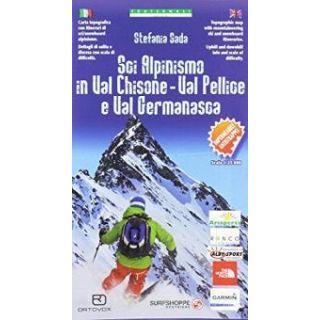 Carta n. 97. Sci alpinismo in Val Chisone, Val Pellice e Val Germanasca 1:25000 -