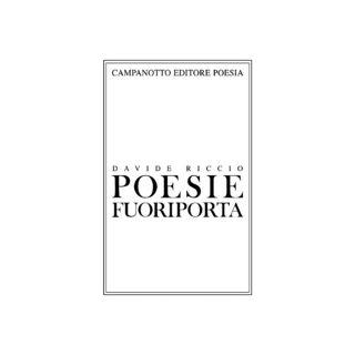 Poesie fuoriporta - Riccio Davide