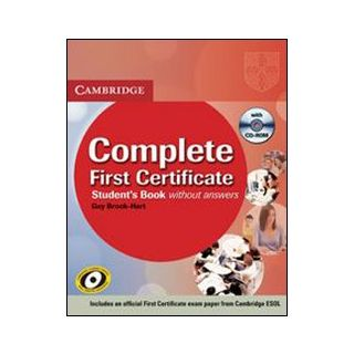 CAMBRIDGE FIRST CERTIFICATE -