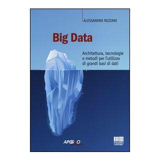 Big data. Architettura, tecnologie e metodi per l'utilizzo di grandi basi di dati - Rezzani Alessandro