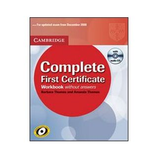 Complete first certificate. Workbook -