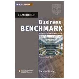 Business Benchmark Personal Study Book: Pre-Interm -  Norman Whitby