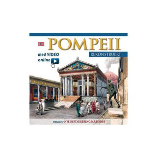 Pompei ricostruita. Ediz. norvegese. Con video scaricabile online -