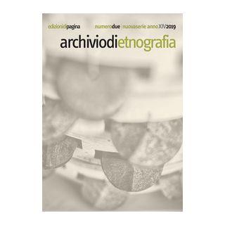 Archivio di etnografia (2019). Vol. 2 -