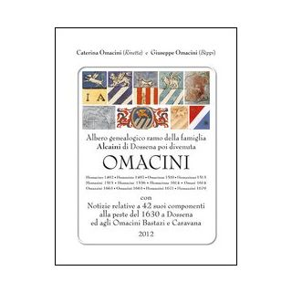 Albero genealogico e notizie della famiglia Omacini - Omacini Caterina; Omacini Giuseppe