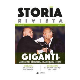 Storia Rivista (2018). Vol. 2: Giganti. Almirante e Romualdi a 30 anni dalla morte -