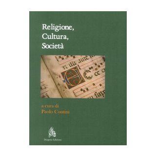 Religione, cultura, società - Contini P. (cur.)
