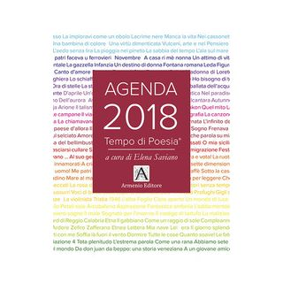 Tempo di poesia. Agenda 2018 - Saviano E. (cur.)