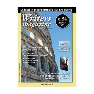 Writers magazine Italia. Vol. 54 - Forte F. (cur.)
