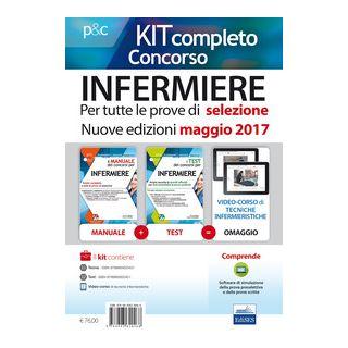 Concorso infermieri. Kit completo - Caruso R.; Pittella Francesco