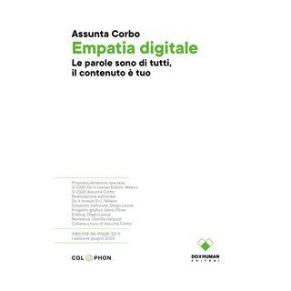 Empatia digitale - Corbo Assunta