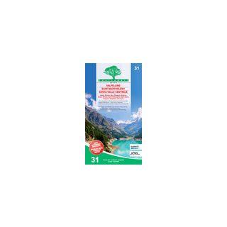 Carta n. 31. Valpelline, Saint-Barthélemy, Aosta 1:25.000 -